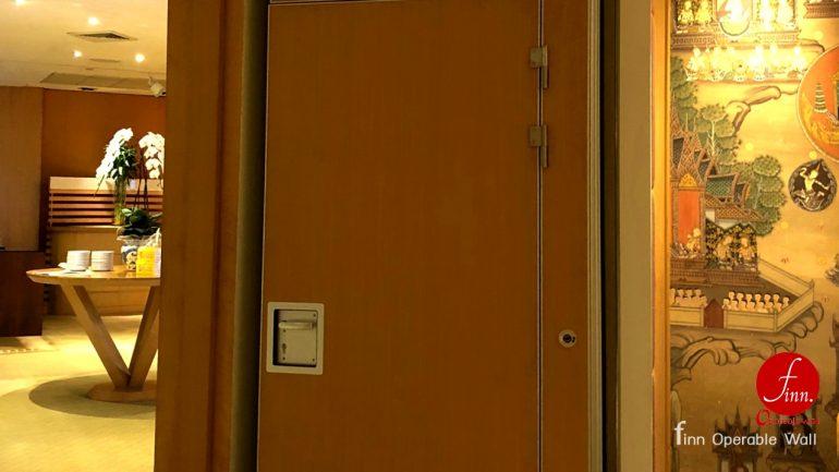 รอยัล ออคิด เชอราตัน ผลงาน ผนังบานเลื่อนกันเสียงเคลื่อนที่ ห้องประชุมสัมมนา สถานที่จัดงาน