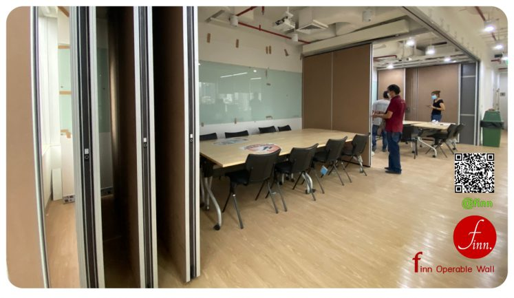ผนังกั้นห้องประชุม MOVABLE WALL SYSTEM - Finn Operable wall systems_By_FINN Decor